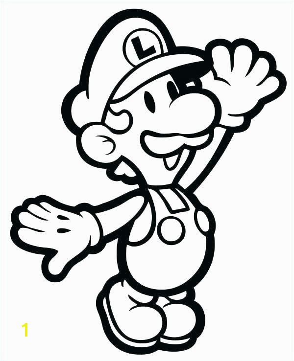 Printable Mario Coloring Pages New Super Mario Bros Printable Coloring Pages Line O D Colouring Printable