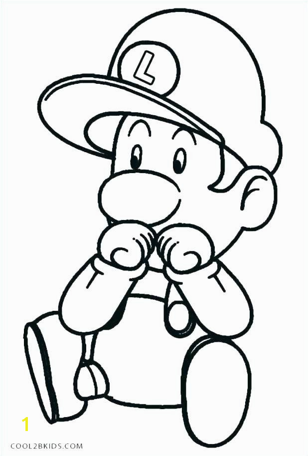 Mario Coloring Pages line Fresh Mario Coloring Pages Line Elegant Mario Coloring Pages Line for