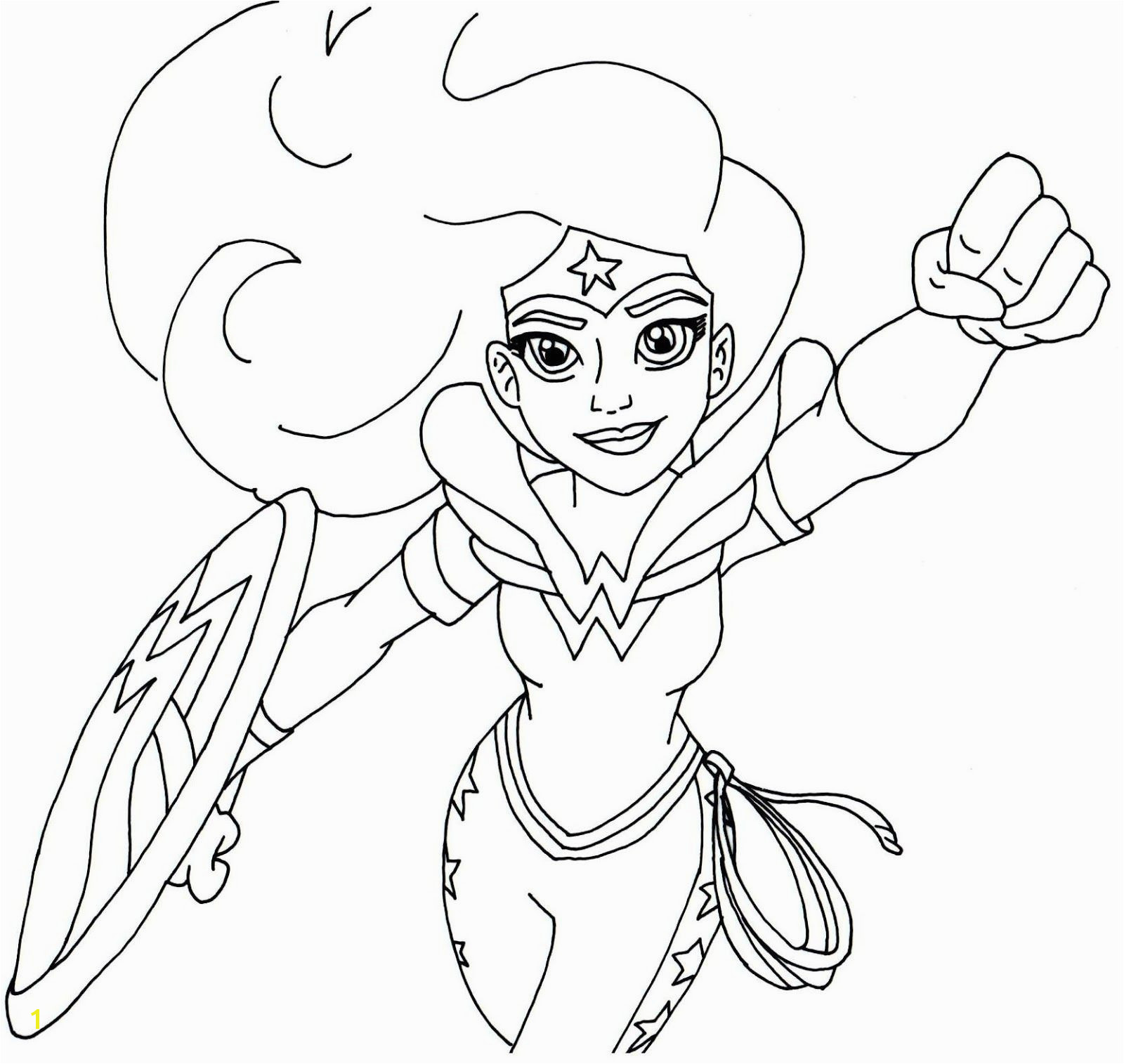Free printable super hero high coloring page for Wonder Woman More are ing I ll keep this post updated Have fun
