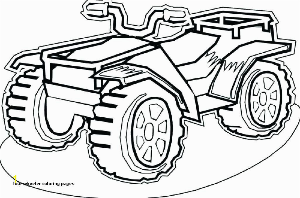25 Four Wheeler Coloring Pages