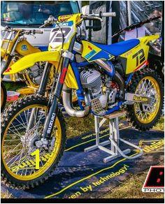 Suzuki Dirt Bikes Mx Bikes Suzuki Motorcycle Motocross Bikes Vintage Motocross