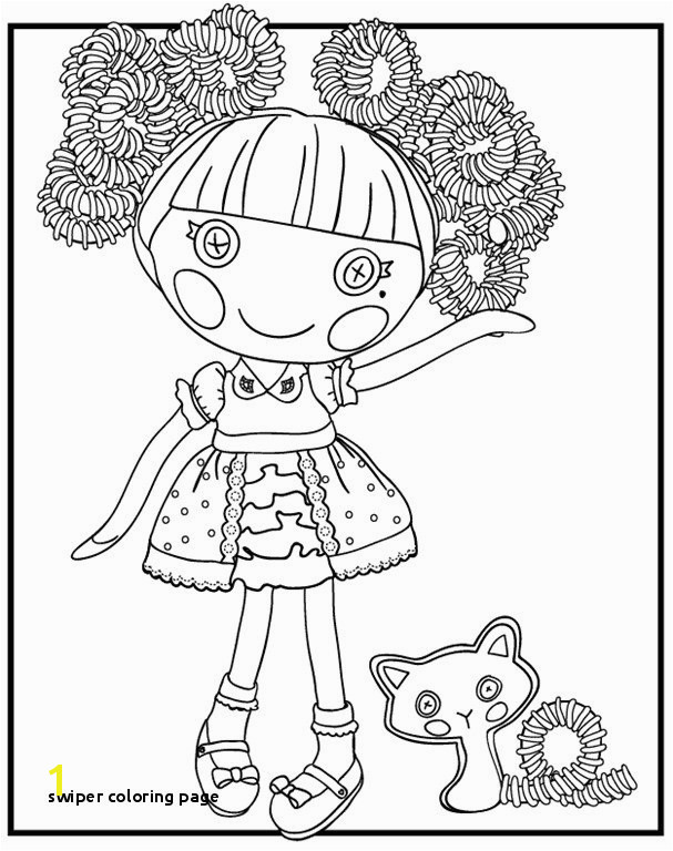 Swiper Coloring Page Lalaloopsy Coloring Pages Luxury Desenhos Para Colorir Da Lalaloopsy
