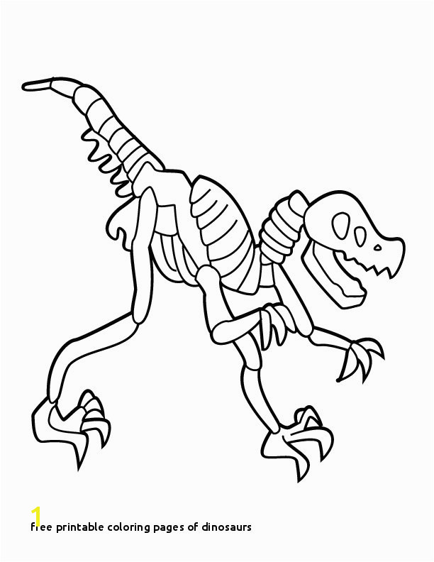 Free Printable Coloring Pages Dinosaurs T Rex Skeleton Coloring Page Az Coloring Pages