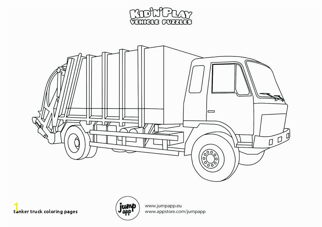 Tanker Truck Coloring Pages Tanker Truck Coloring Pages Free Truck Coloring Page the Famous