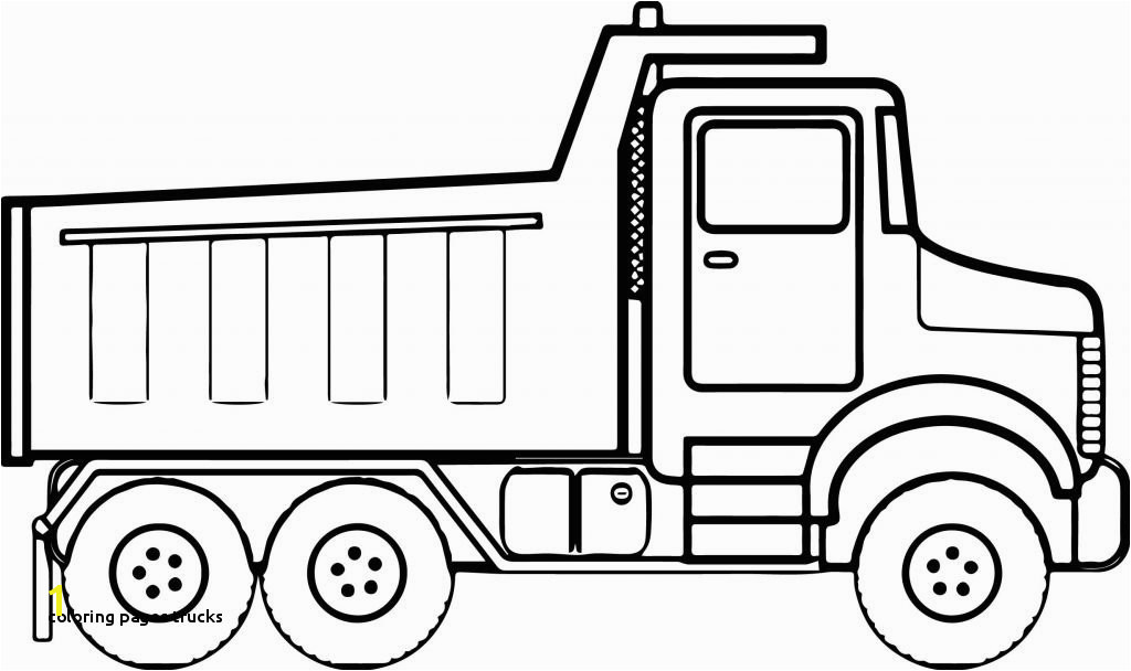 Coloring Pages Trucks Construction Coloring Pages Tipper Truck Full Od Sand Coloring Page