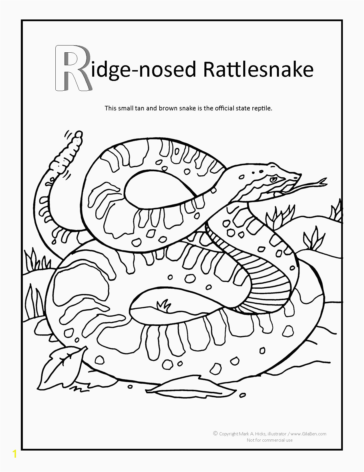 Tattle tail game coloring page best of rattle snake drawing at drawings of tattle tail game