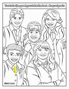 The Ultimate SquadGoals Coloring Book — Print It Color It Live It