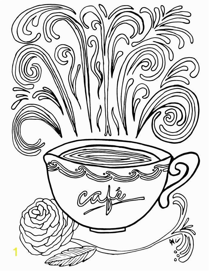 Don t you just love plex coloring pages These free printable coloring pages for adults e in a coffee theme because I m obsessed