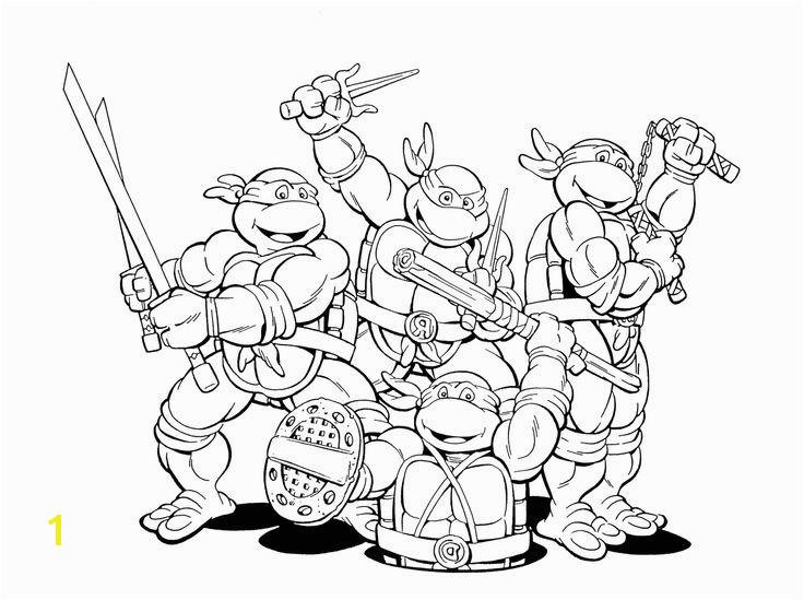 Teenage Mutant Ninja Turtles Coloring Pages Pdf Ninja Turtles Coloring Page Inspirational Teenage Mutant Ninja