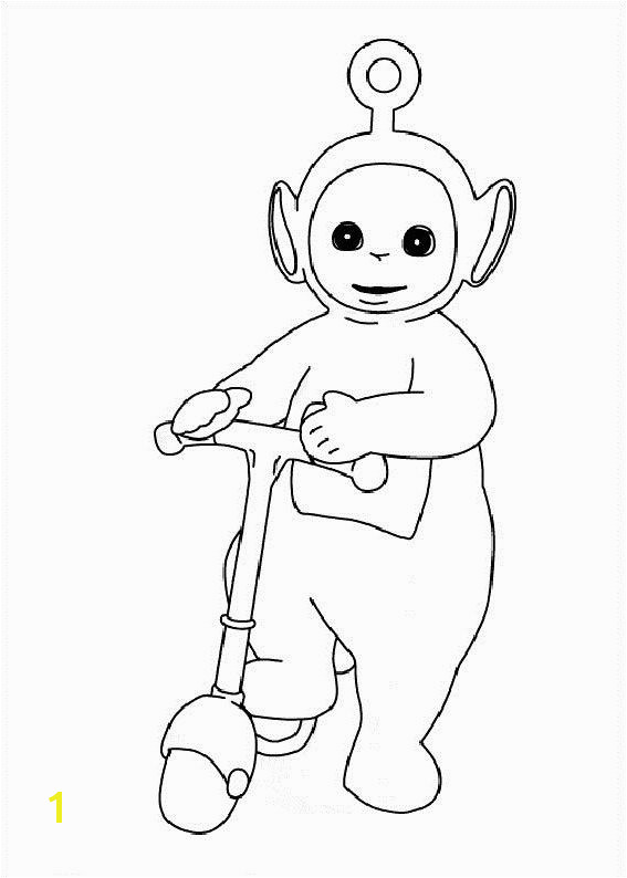 Teletubbies Dipsy Coloring Pages Pinterest