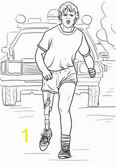 Terry Fox Run Coloring page Free Printable Coloring Pages Free Coloring Pages Coloring Sheets