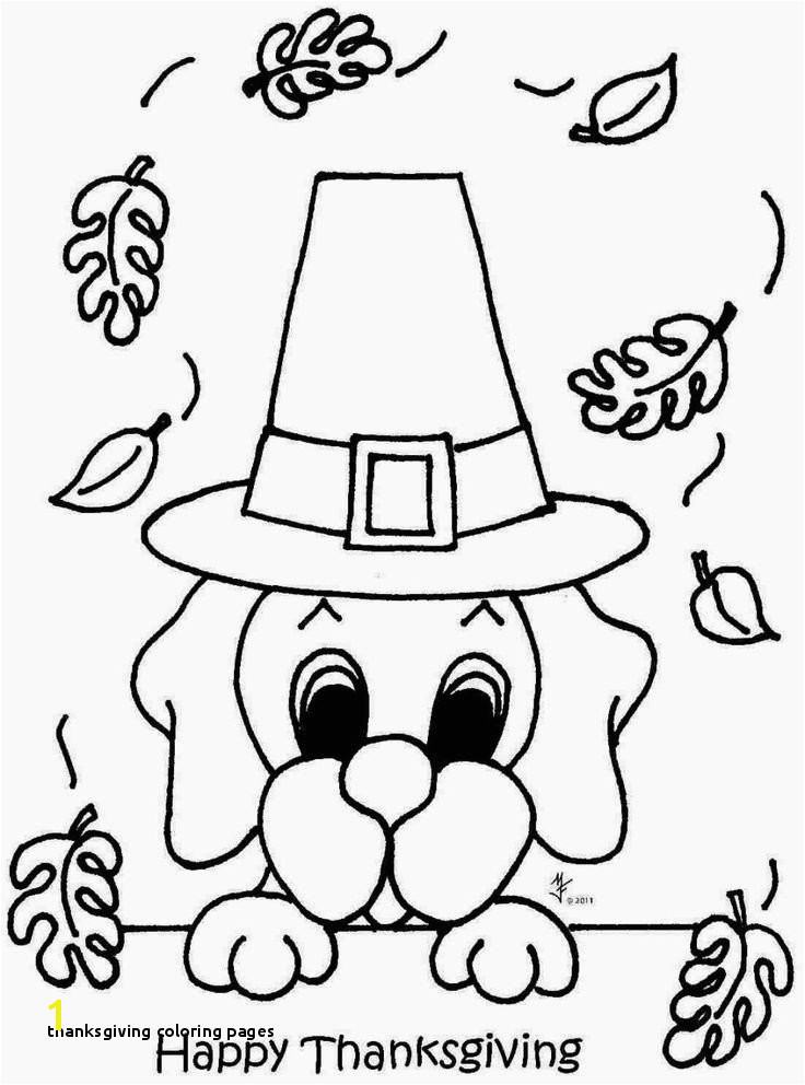 29 Thanksgiving Coloring Pages