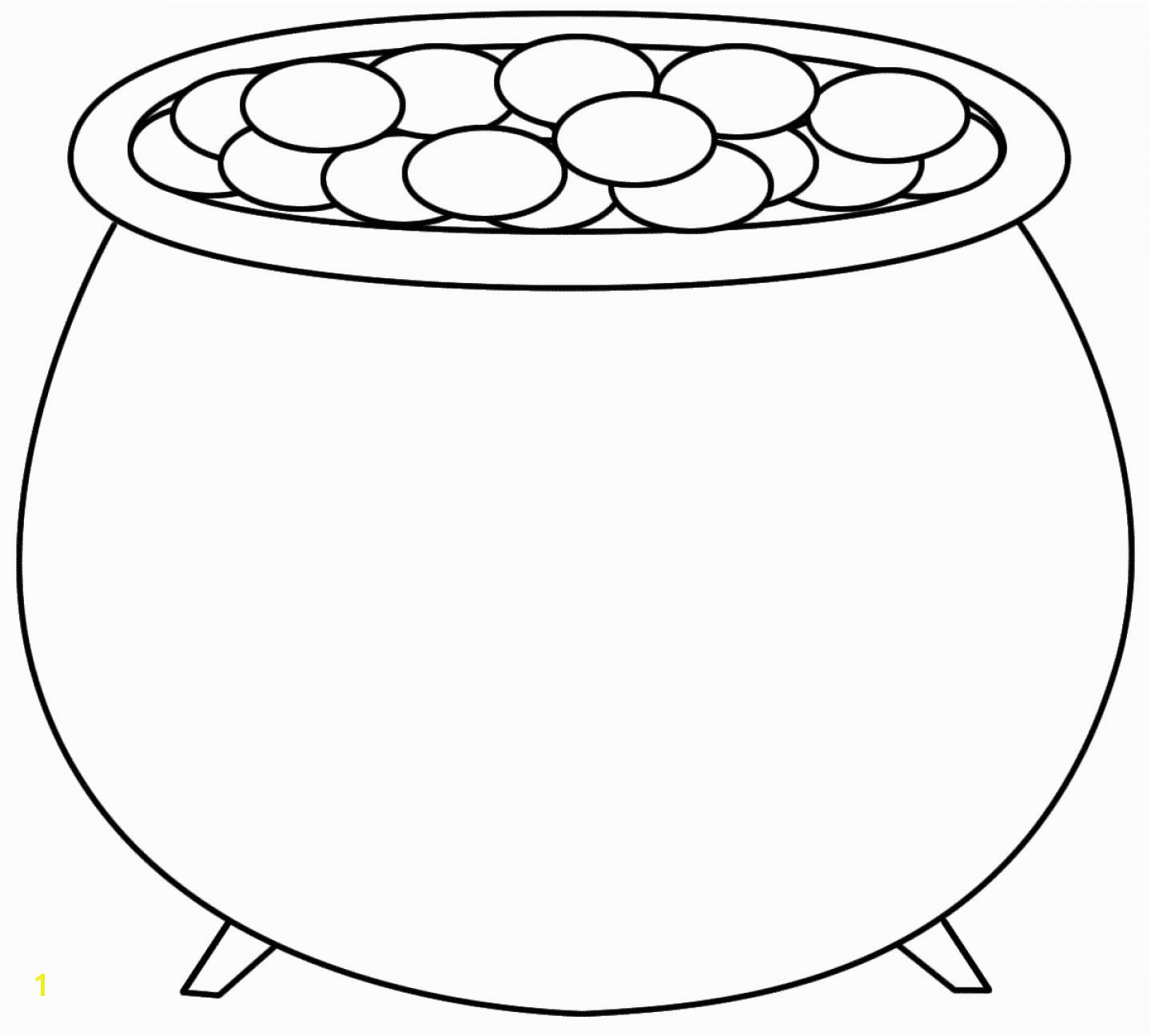The Empty Pot Coloring Pages