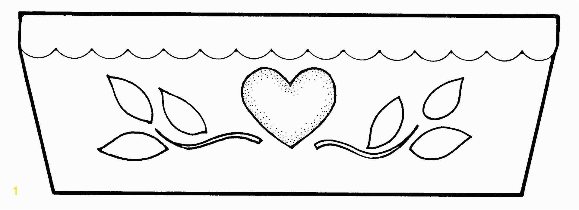 Helpful The Empty Pot Coloring Pages Emerging Download Flower Page In