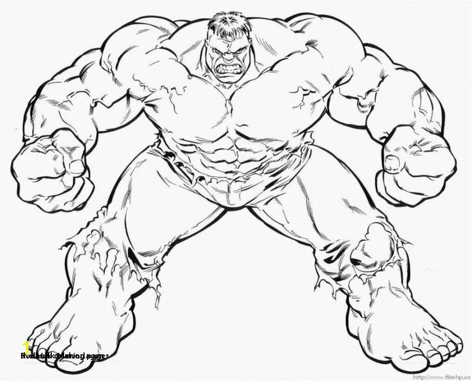Red Hulk Malvorlagen the Hulk Coloring Pages 15 New Hulk Coloring Pages Artstudio301