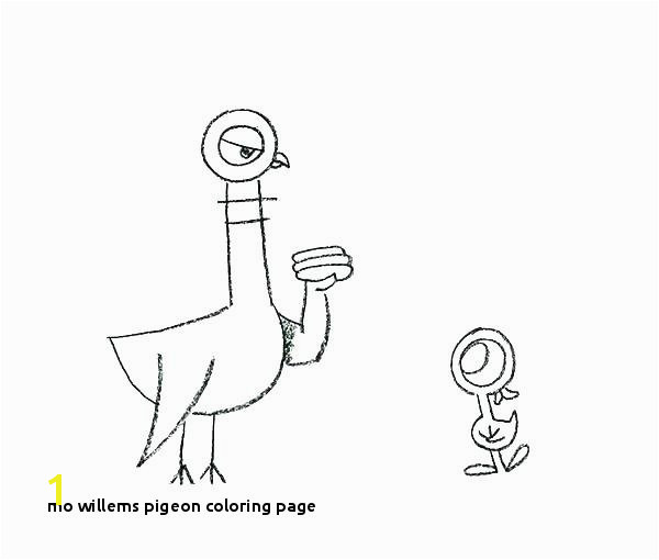 Mo Willems Coloring Pages Pigeon Coloring Page Mo Coloring Pages Mo