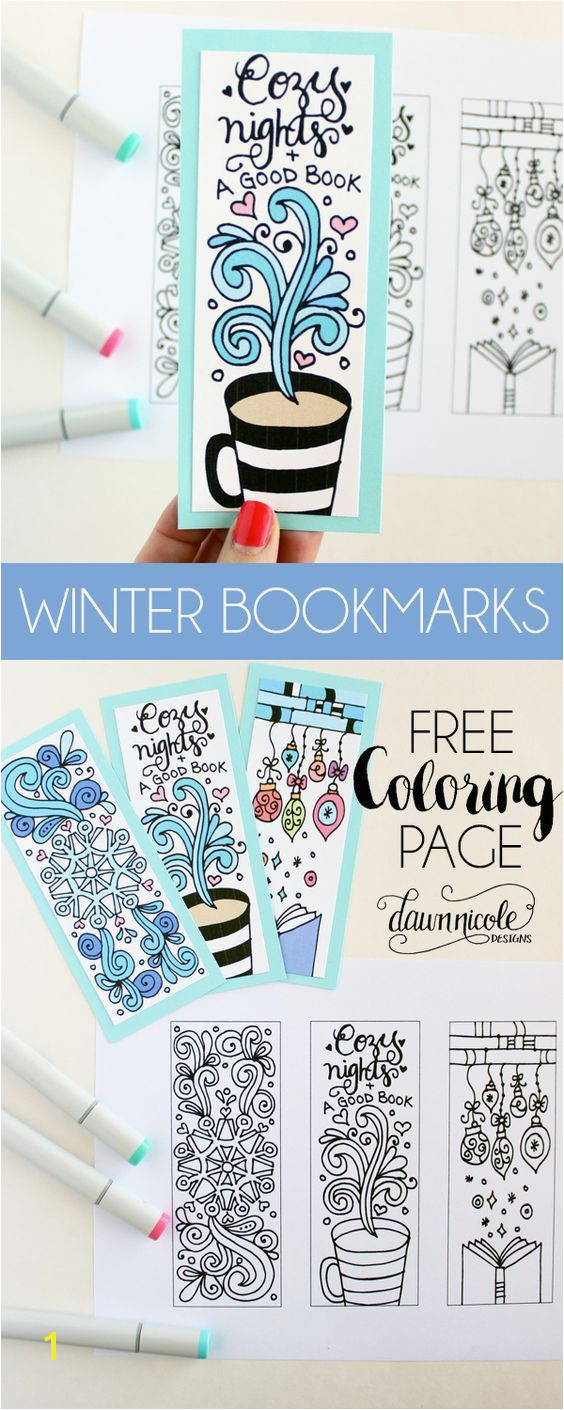 Three Crosses Coloring Page Best Winter Bookmarks Coloring Page Pinterest Three Crosses Coloring Page