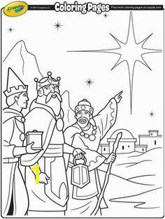 Three Kings Coloring Page We Three Kings Kings Day Christmas Colors Kids Christmas