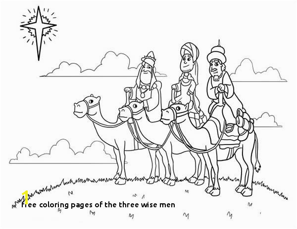 Free Coloring Pages the Three Wise Men Wise Men Coloring Pages A K Bfo