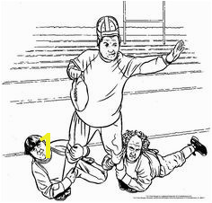 This Three Stooges football coloring page will keep your Little Stooges busy for a while on