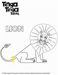 Tinga Tinga Tales Black and white picture of Lion Coloring Sheets For Kids Coloring Pages