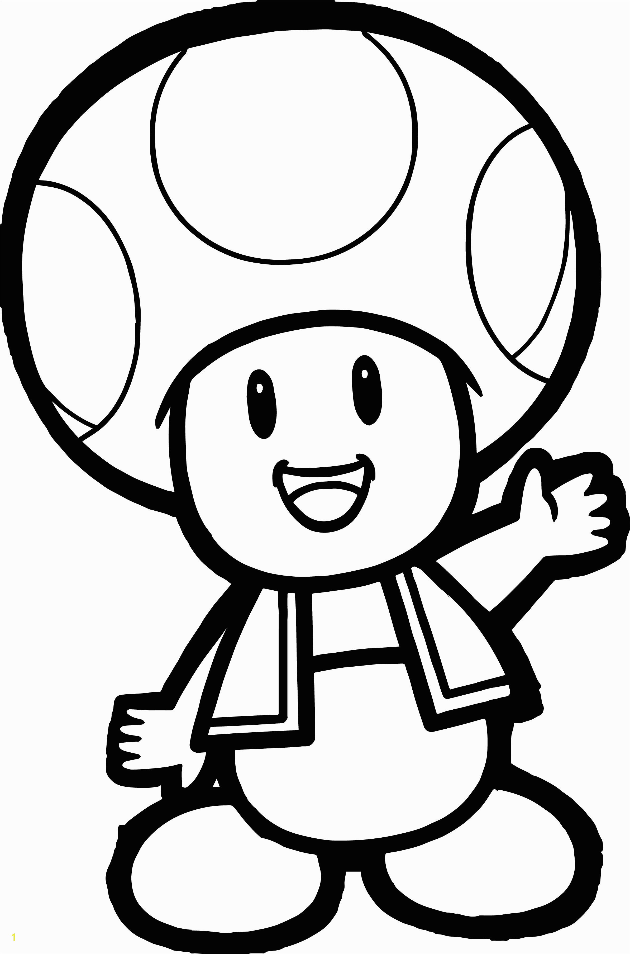 Toad and toadette Coloring Pages