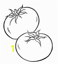 Healthy Tomato Ve ables Coloring Page Ve able Coloring Pages Coloring For Kids Coloring Pages For