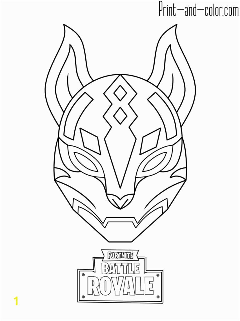 Toronto Raptors Logo Coloring Page fortnite Battle Royale Coloring Page Drif Mask
