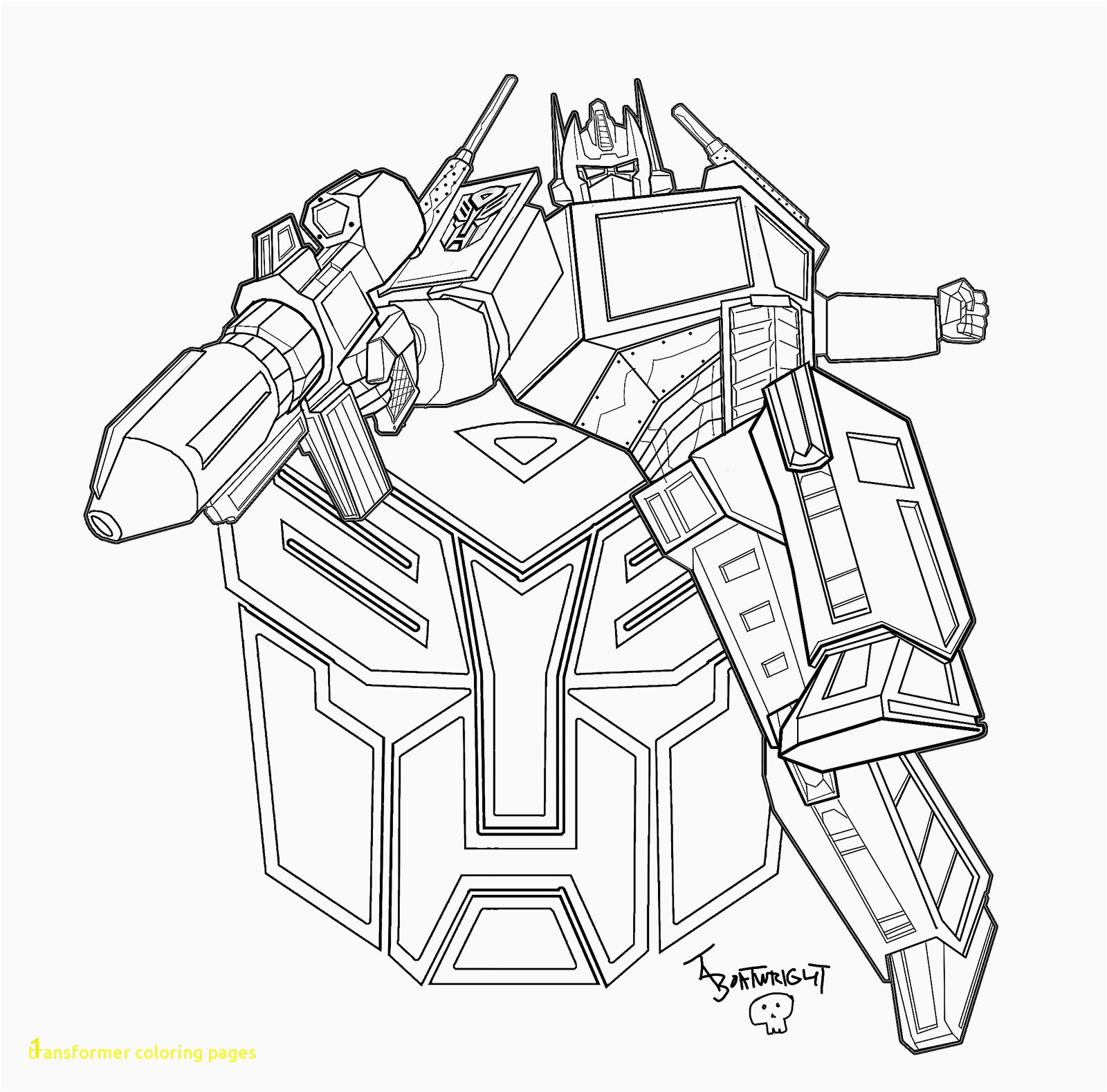 Transformer Coloring Pages Optimus Prime Coloring Pages Coloring Inspirierend Transformers Ausmalbilder Optimus Prime