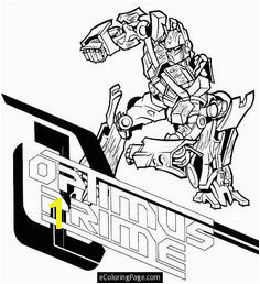 Optimus Prime Transformers Coloring Pages Cartoon Coloring Pages Printable Coloring Pages Transformers Optimus