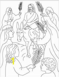 Jesus enters Jerusalem Bible Story Crafts Bible Stories Bible Coloring Pages Coloring Pages