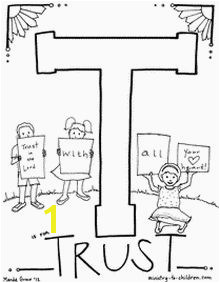 Trust God Coloring Page 50 Best Bible Coloring Pages Images On Pinterest
