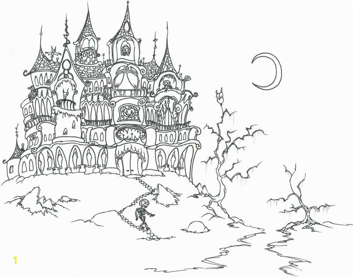 Adult Vampire Coloring Pages