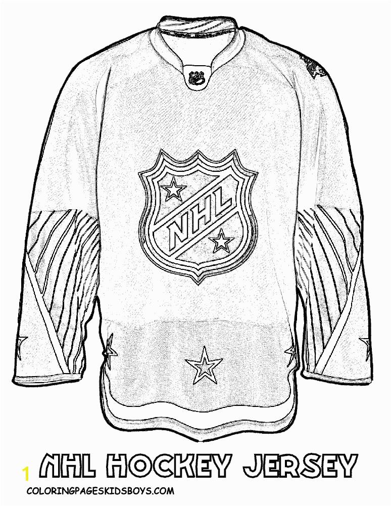 NHL worksheets for kids
