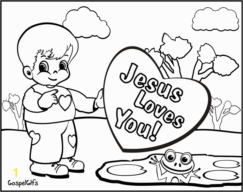 Bible Verse Coloring for Toddlers