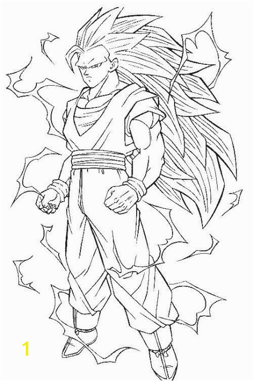 Ve a Coloring Pages Awesome Dragon Ball Z Coloring Pages Goku Super Saiyan 20 Lovely Ve a