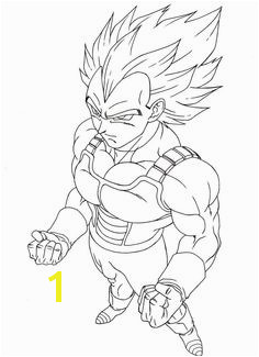 Vegeta Super Saiyan 3 Coloring Pages 39 Best Animation Coloring Pages Images On Pinterest