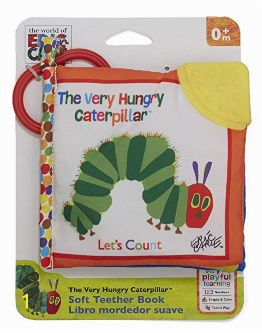 Amazon World of Eric Carle The Very Hungry Caterpillar Let s Count Clip Book Baby Toys Baby