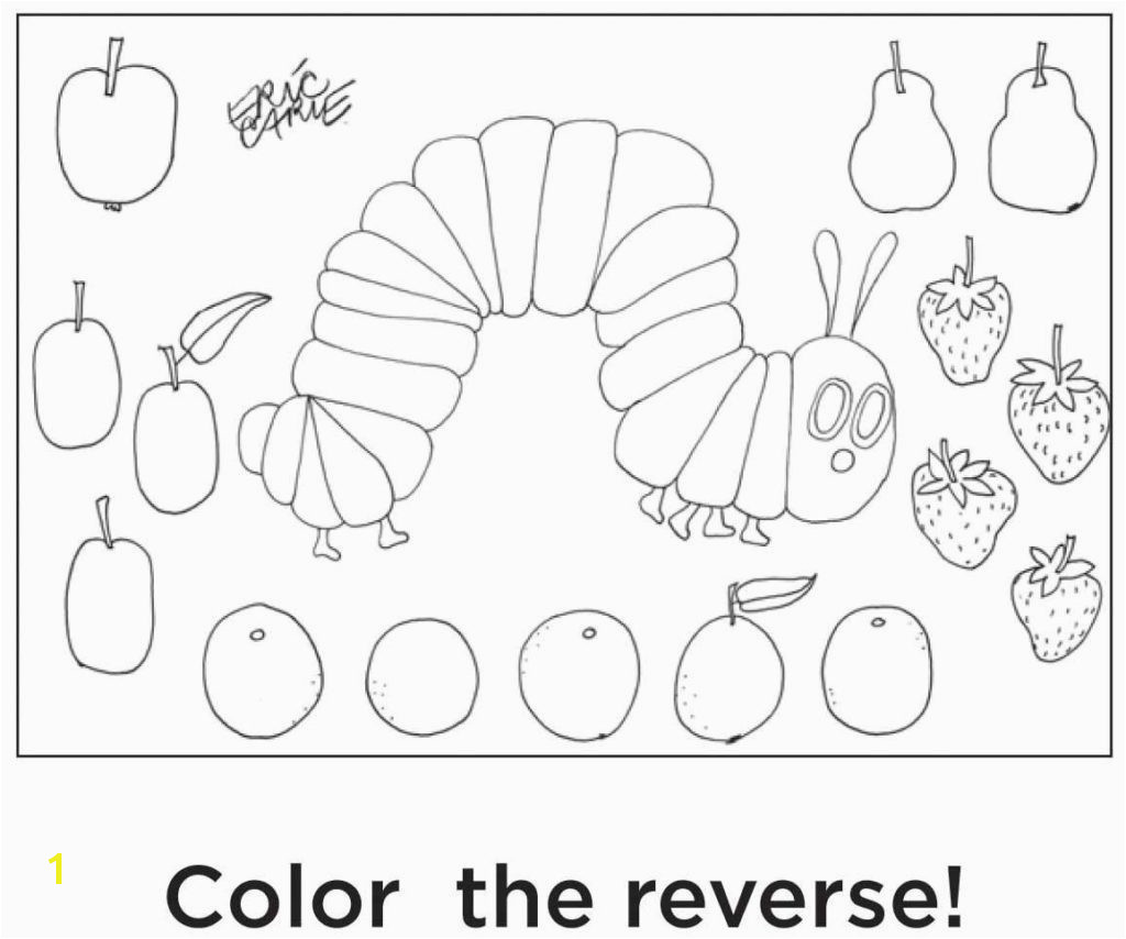 Awesome eric carle coloring sheet Download 11p Superior Very Hungry Caterpillar Coloring Pages Free Download