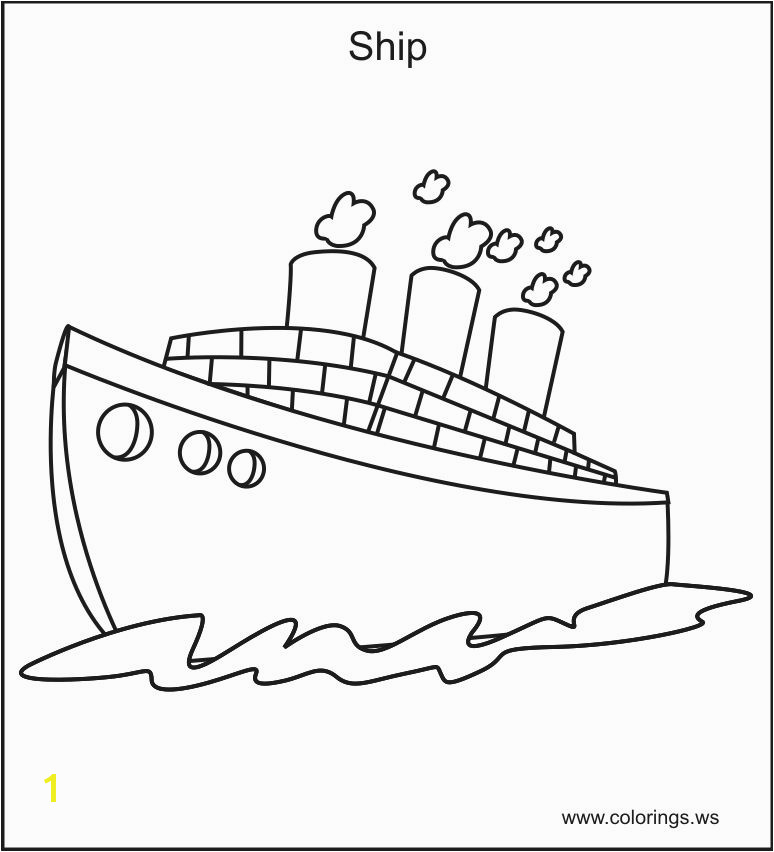 Beautiful Boat Coloring Pages Coloring Pages