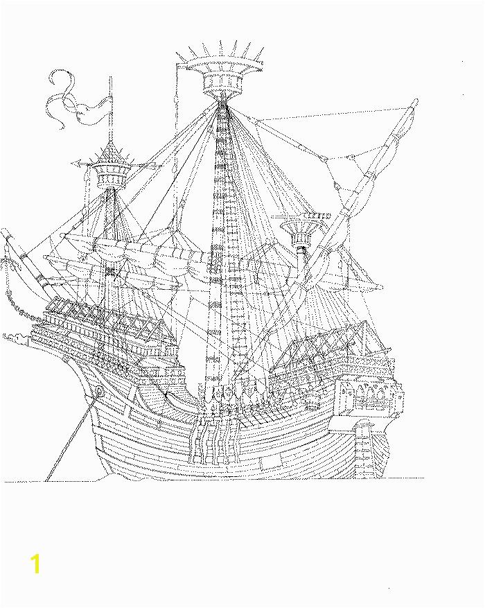 Kleurplaat op Kids n Fun Boat Sketch Sketch Art Cool Coloring Pages