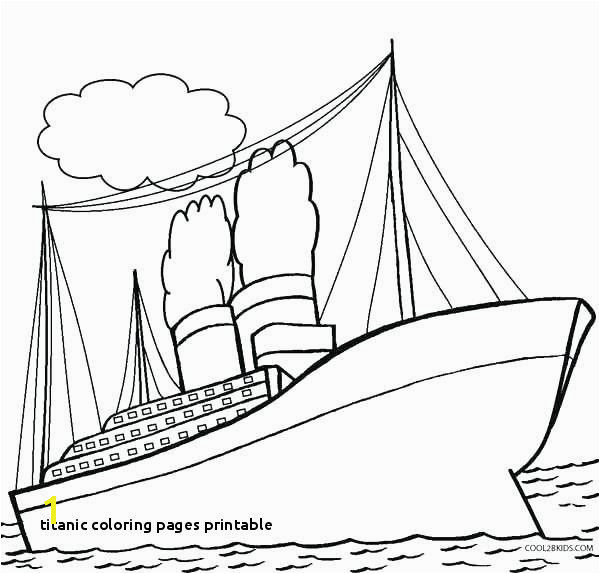 29 Titanic Coloring Pages Printable