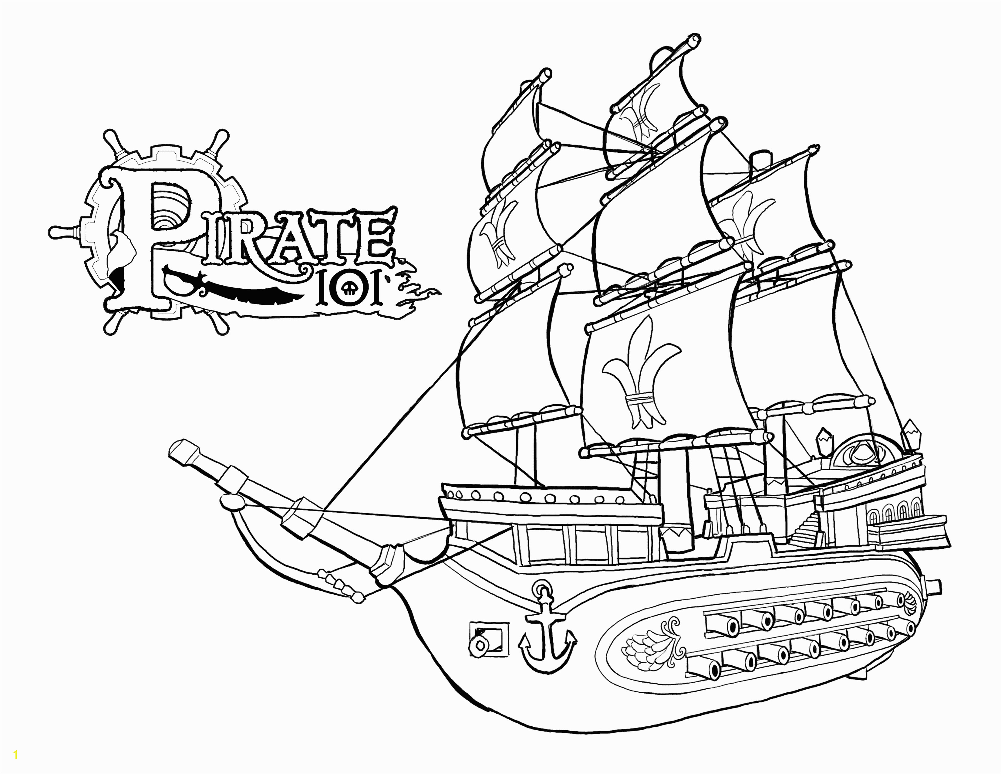 Awesome Ships coloring pages Download 3 r Fun Pirate Clip Art E H Pirates Pinterest
