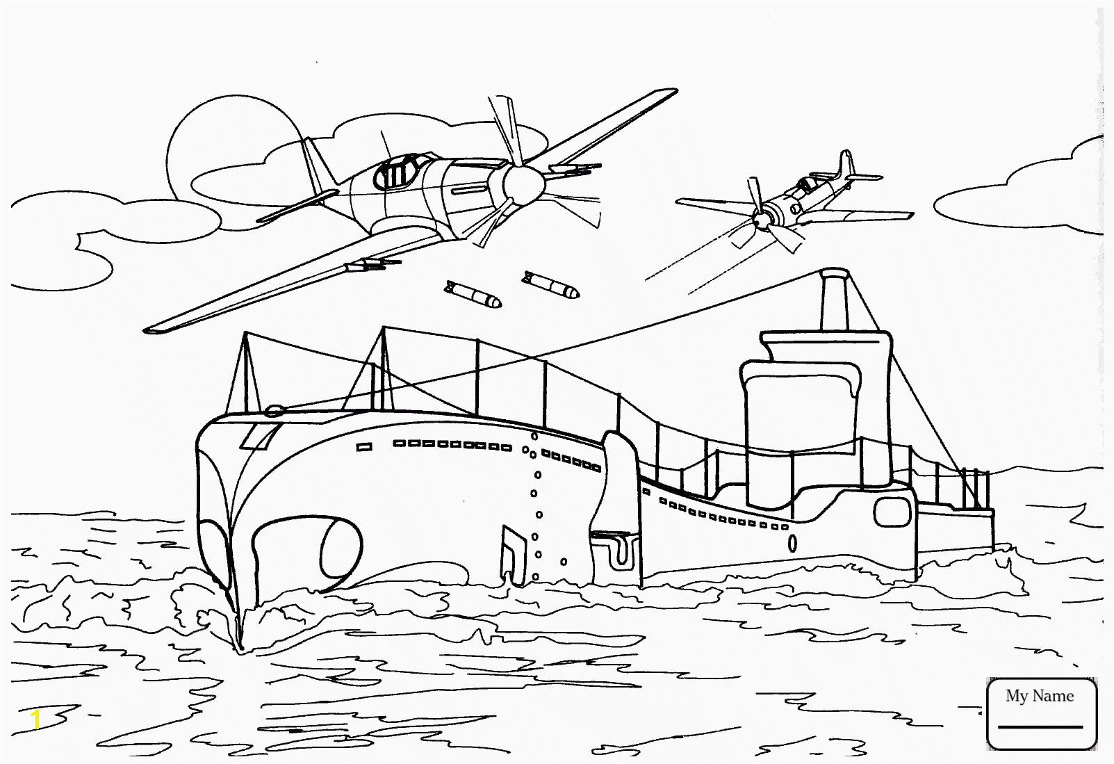 New Ships coloring pages Gallery 1 i War Ship Coloring Pages Pics Military Navy