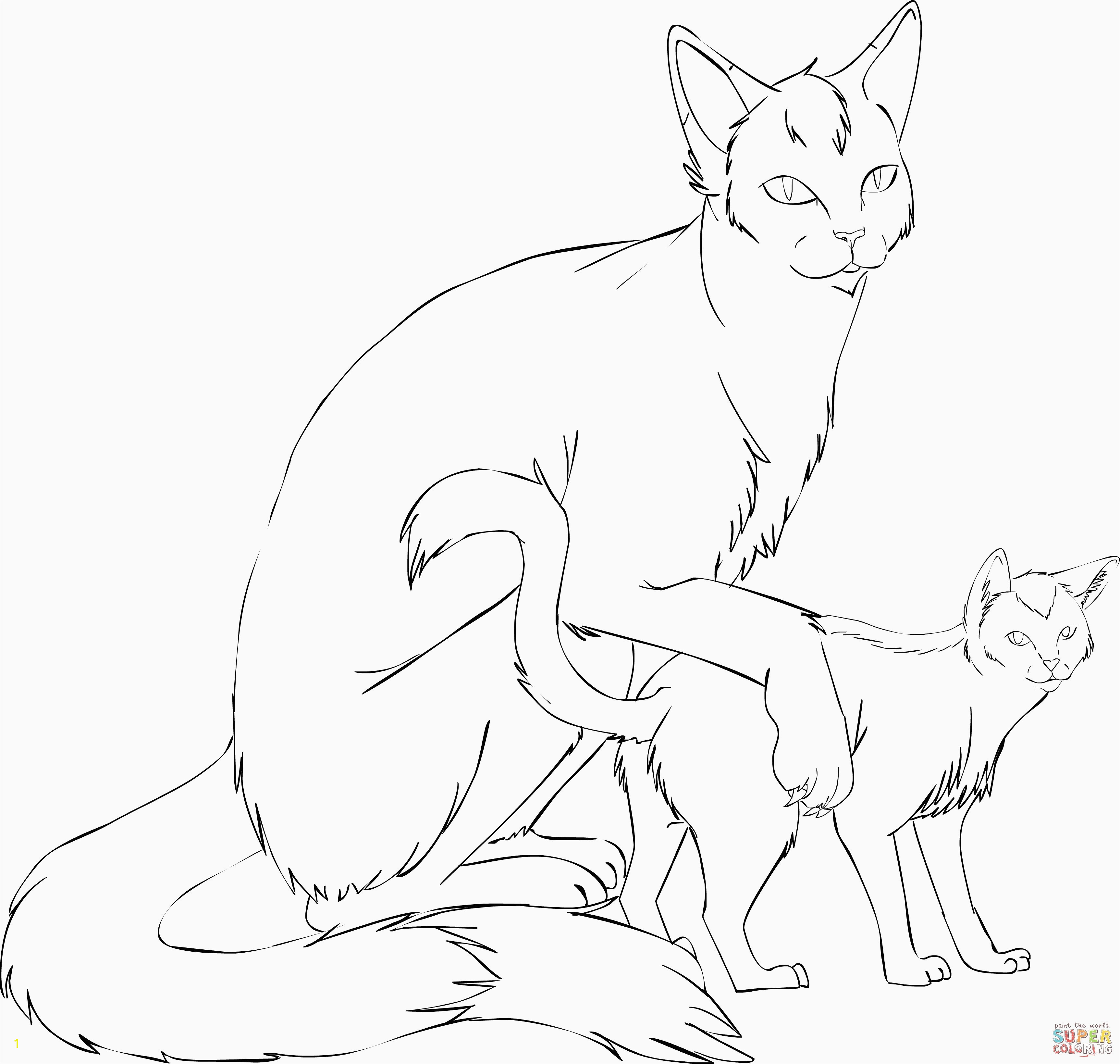 Warrior Cats Clan Coloring Pages Warrior Cats Clan Coloring Pages Best Image Coloring Page