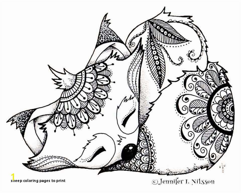 Sheep Coloring Pages to Print Sheep Coloring Page Best Coloring Printables 0d – Fun Time Cool