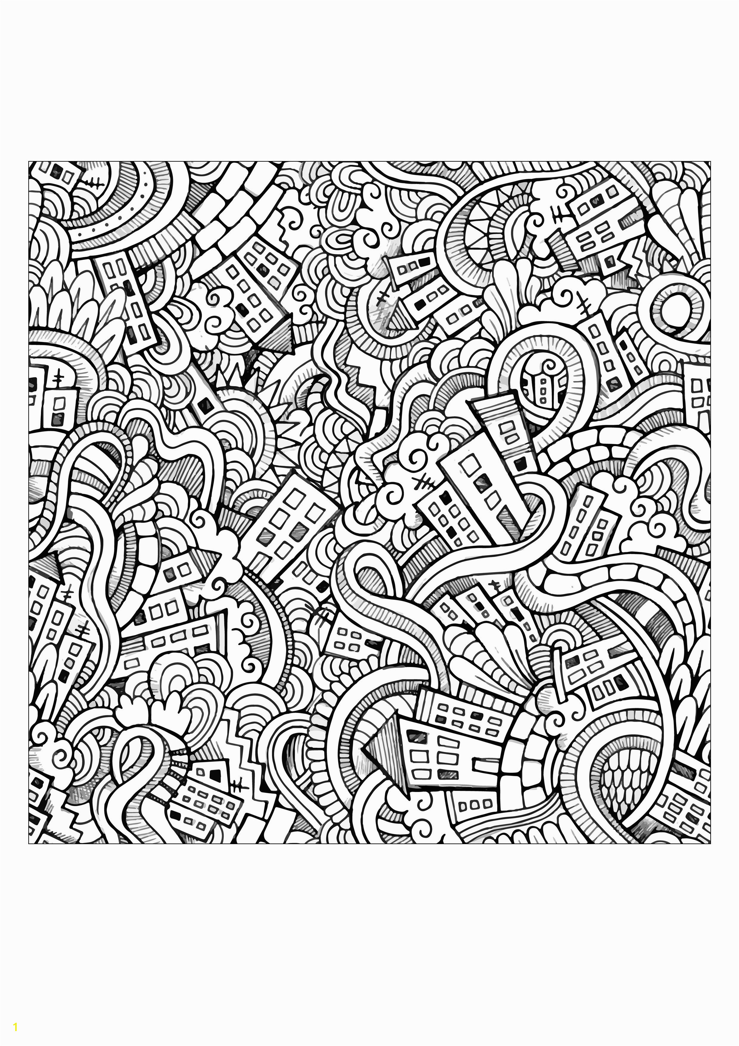 Weird doodle city by Olga Kotsenko Source 123rf From the gallery Doodling Doodle Art Artist Olga Kotsenko Source 123rf