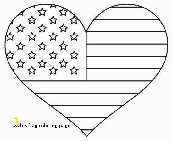Wales Flag Coloring Page 13 Wales Flag Coloring Page