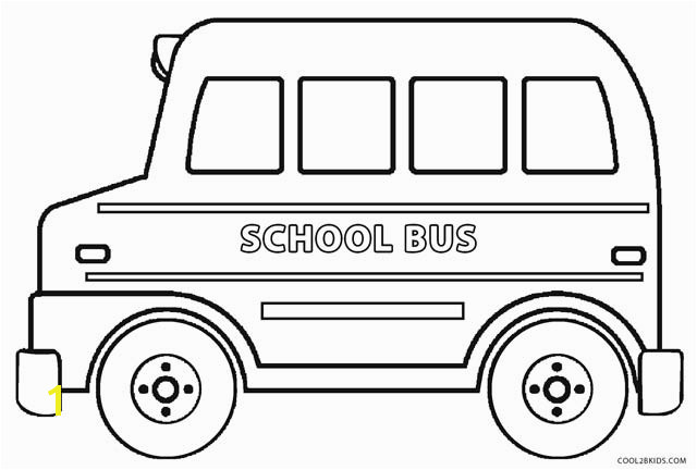 School Bus Coloring 10