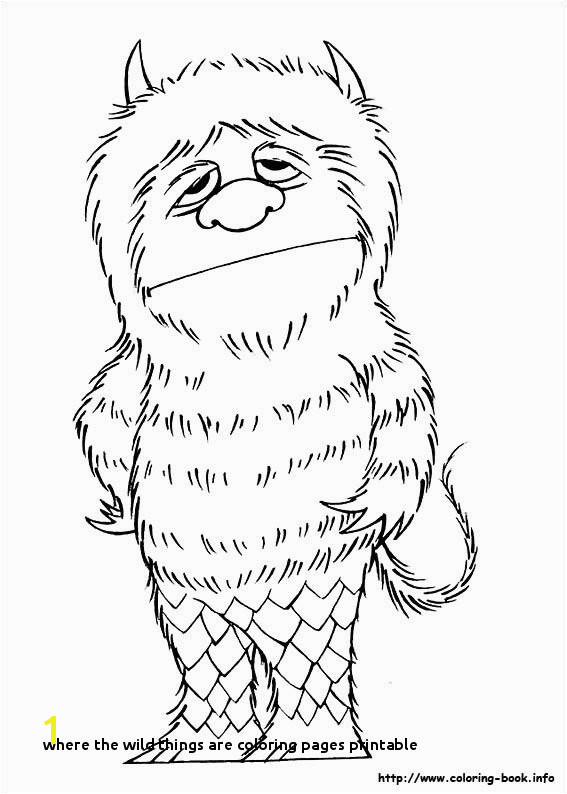 where the Wild Things are Coloring Pages Printable Lisa Demarco Lisademarco19 Pinterest